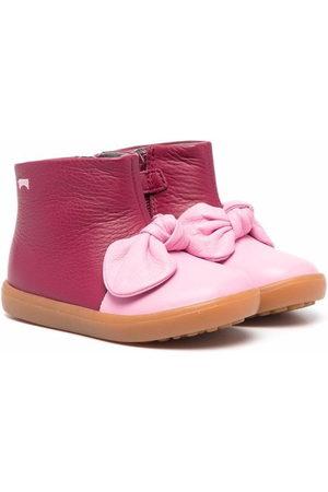 Camper Kids Rain Boots - Pursuit bow-detail boots