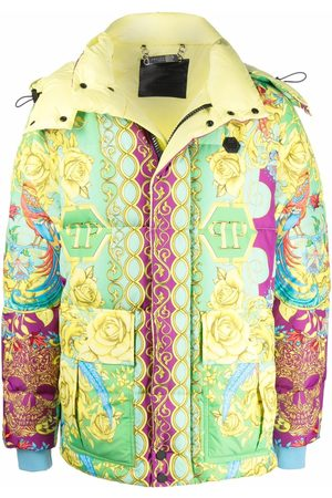 Philipp Plein Baroque pattern-print jacket