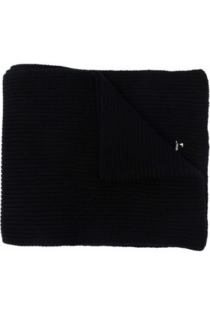 Off-White Hands Off logo wool scarf