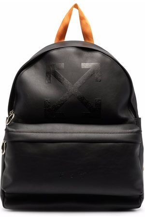 OFF-WHITE Men Rucksacks - Arrows leather backpack