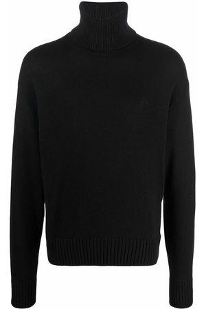 Off-White Men Turtlenecks - Knitted turtleneck jumper