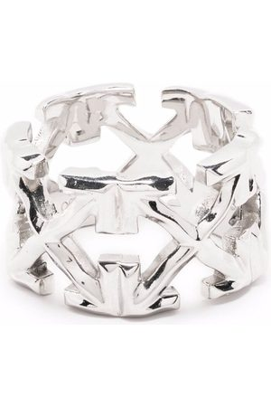 Off-White Melted arrow ring - Metallic