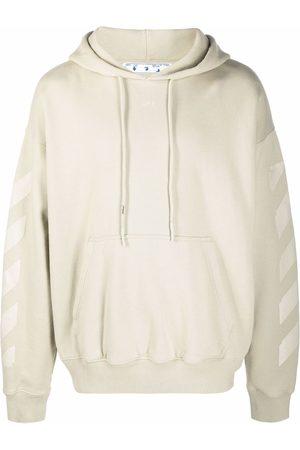 OFF-WHITE Arrows-print hoodie - Neutrals