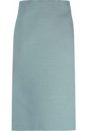 Off-White Cardbox mid-length pencil skirt