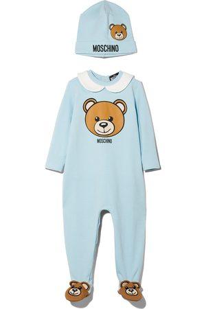 Moschino Teddy Bear logo-print two-piece set