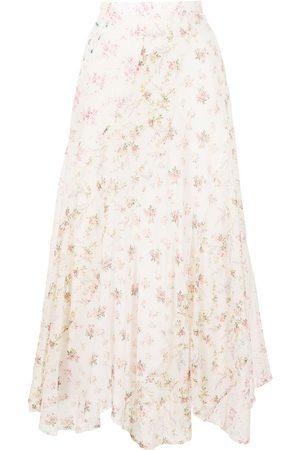 Polo Ralph Lauren All-over floral-print skirt