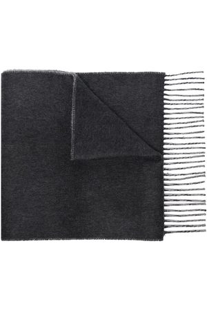 Johnstons Of Elgin Two-tone cashmere scarf - Grey