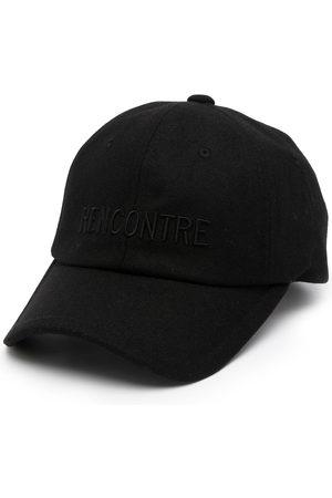 Juun.J Men Caps - Rencontre embroidered baseball cap