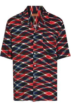 Missoni Printed short-sleeve shirt - Neutrals