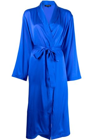 Lisa von Tang Women Bathrobes - Caviar-in-Bed silk robe