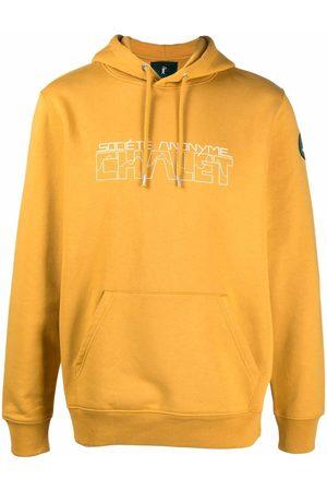 SOCIÉTÉ ANONYME Men Hoodies - Logo drawstring hoodie