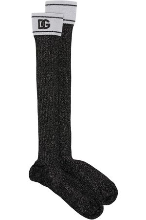 Dolce & Gabbana Logo-print midi socks