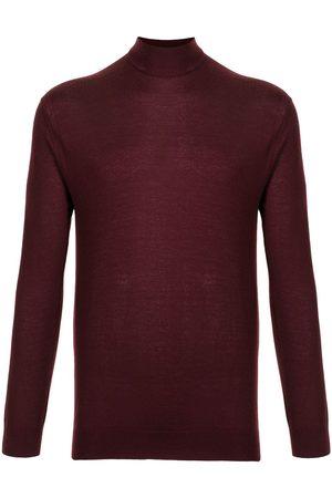 N.PEAL Men Sweatshirts - Funnel-neck cashmere jumper