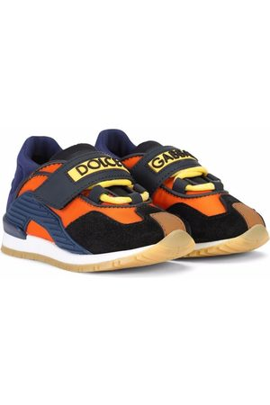Dolce & Gabbana Boys Sneakers - Touch-strap logo sneakers
