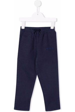 Kenzo Kids Logo straight-leg trousers