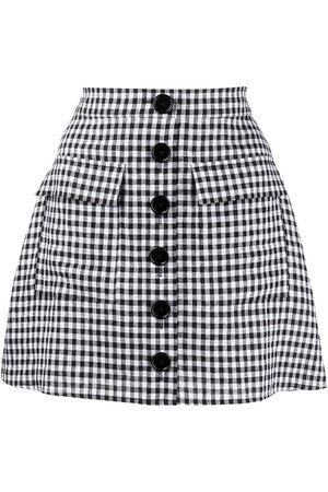 Reformation Maeve checked skirt