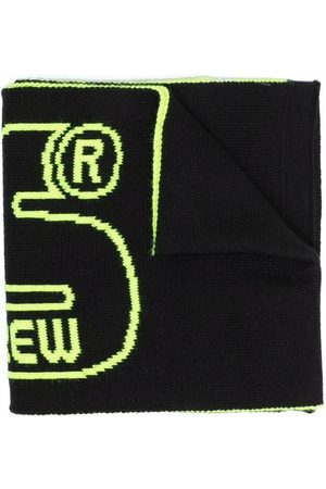 Gcds Kids Logo wool scarf