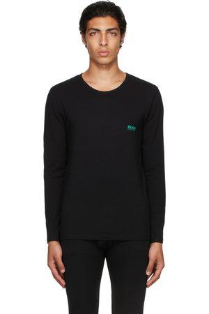 HUGO BOSS Men Long Sleeve - Black Infinity Long Sleeve T-Shirt