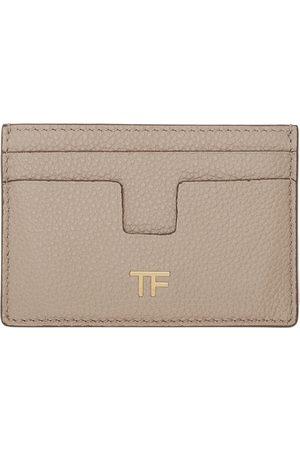 Tom Ford Women Wallets - Pink T Line Card Holder