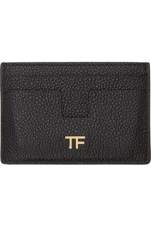 Tom Ford Women Wallets - Black T Line Card Holder