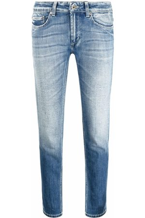 DONDUP Low-rise slim-cut jeans