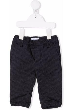 Emporio Armani Kids Chinos - Check-print tailored trousers
