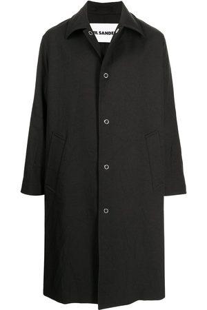 Jil Sander Snap-button parka coat
