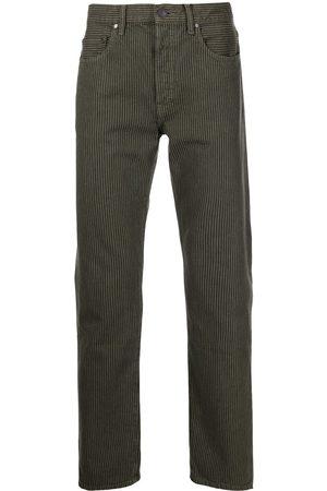 John Elliott The Daze striped straight-leg jeans