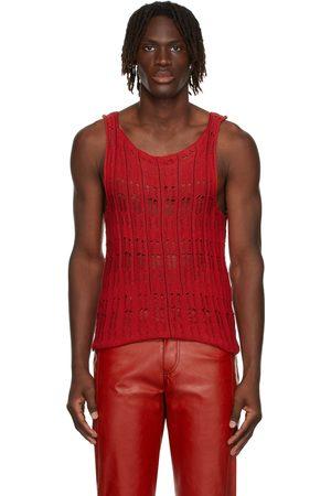 Situationist Men Tank Tops - Knit Tank Top