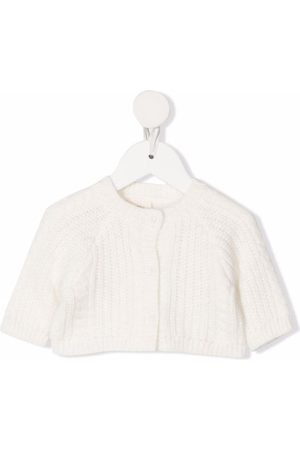 Douuod Kids Cable-knit buttoned cardigan