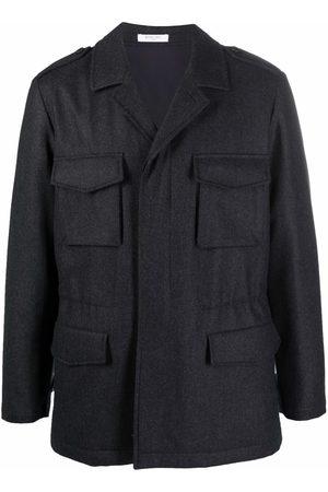 Boglioli Men Rainwear - Long-sleeve rain jacket - Grey