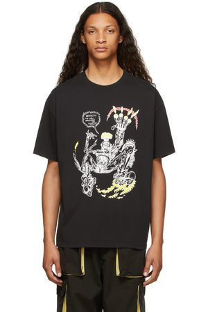 Brain Dead SSENSE Exclusive Them Skates Edition 'Masters Of Flow' T-Shirt