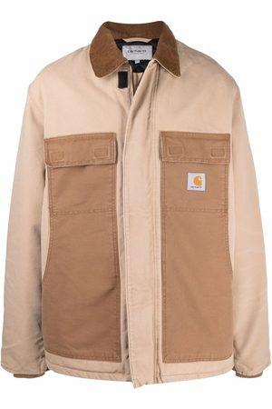 Carhartt WIP Logo-patch organic cotton coat