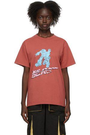 Brain Dead Women T-shirts - SSENSE Exclusive Them Skates Edition Blaster T-Shirt