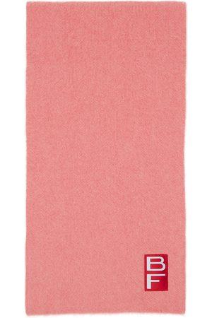 By Far Women Scarves - Pink Alpaca Solid Scarf