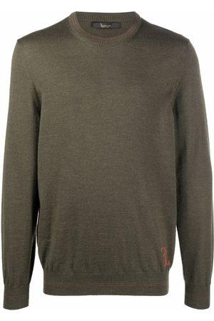 Billionaire Men Sweatshirts - Fine-knit merino jumper