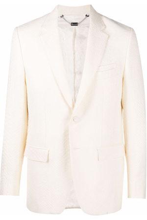 Billionaire Men Blazers - Jaquard crocodile-effect tailored blazer