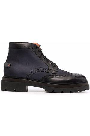 Santoni Men Boots - Chunky leather boots