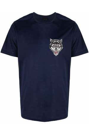 Billionaire Men T-shirts - Wolf-print T-shirt