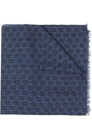 Billionaire Crest logo-print scarf