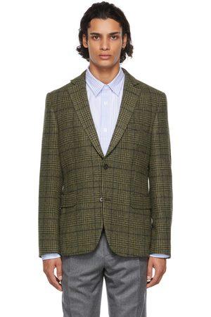Officine Générale Green Wool 375 Blazer