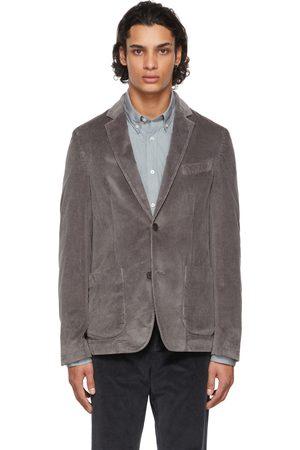 Officine Générale Grey Corduroy New Lightest Blazer