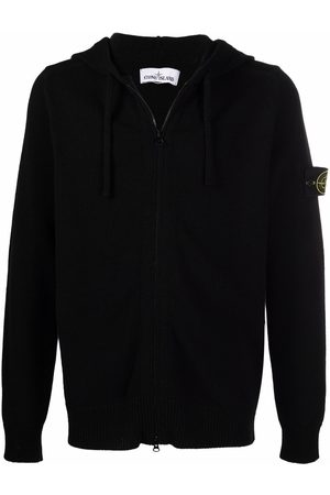 Stone Island Compass badge zipped hoodie