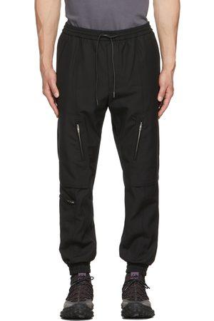 Juun.J Black Wool Lounge Pants