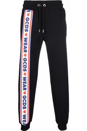 Gcds Side logo stripe track pants