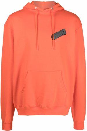 Carrots Graffiti-print pullover hoodie