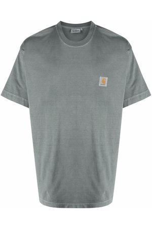 Carhartt Men T-shirts - Logo-patch organic cotton T-shirt