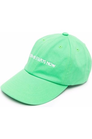 NASASEASONS Embroidered-logo cotton cap