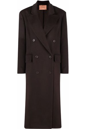 The Andamane Double-breasted midi coat