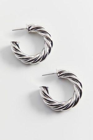 Urban Outfitters Women Hoop - Statement Twist Hoop Earring